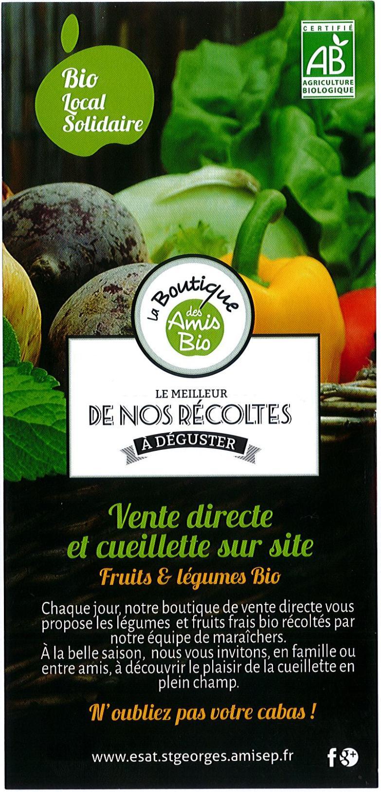 Cueillette sur site fruits et légumes bio Crach, Morbihan