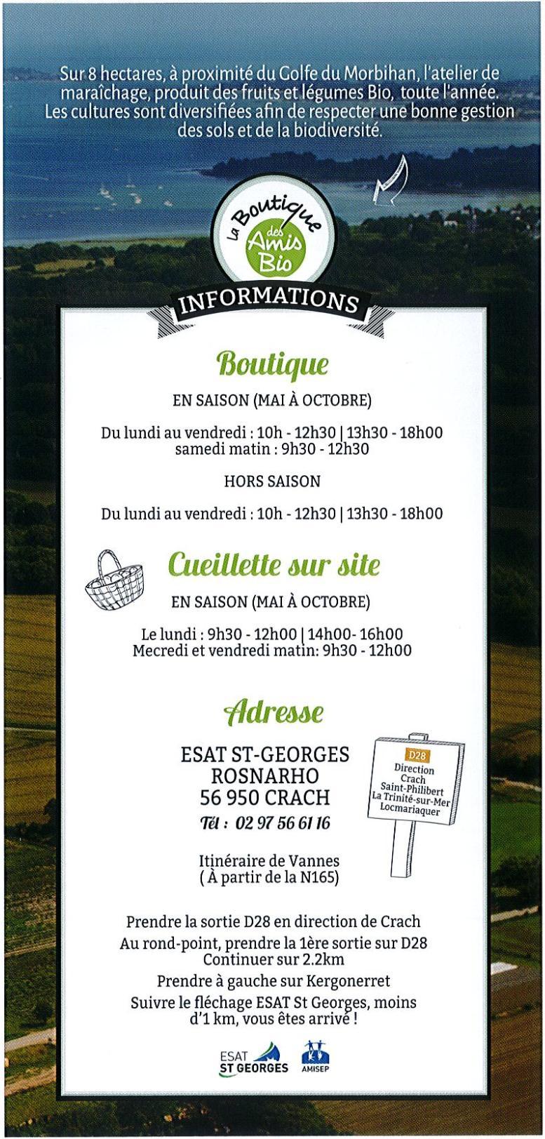 Cueillette sur site fruits et légumes bio Crac'h, Morbihan